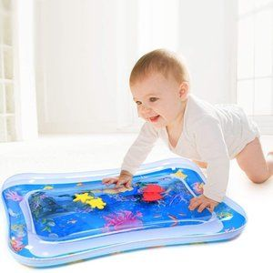 Tummy Time Baby Water Mat Infant Toy Inflatable
